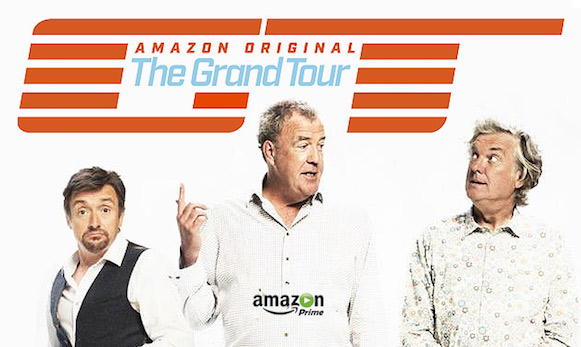 ecco il trailer del nuovo episodio di the grand tour su amazon prime video tvzoom. Black Bedroom Furniture Sets. Home Design Ideas