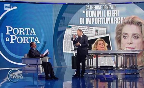Ascolti Tv analisi 11 gennaio: Don Matteo non fa il botto, Santoro batte Del Debbio e Formigli. Vespa al 20% con Berlusconi