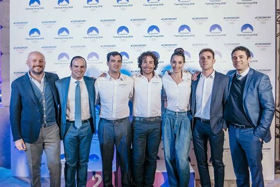 PyeongChang 2018, cerimonia di benvenuto al Villaggio, per l'Italia Team