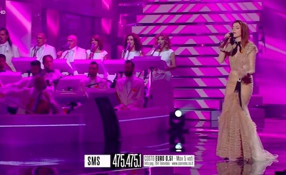 Sanremo – Polpette avvelenate ultimo atto: Annalisa poteva vincere, ma era vestita troppo male. La Maggioni che fa finta di non cantare