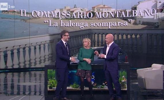Ascolti Tv 4 febbraio tutti i dati: Fazio boom con Zingaretti 4,7 milioni, Renata Fonte 2,7. Giletti e Ncis 7,2%