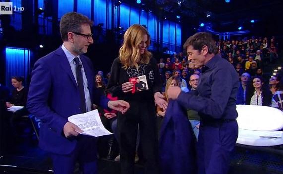 Ascolti Tv analisi 18 febbraio: Fazio al top con Morandi, flop Furore, ok Iene, tiene Giletti