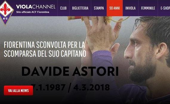 È morto improvvisamente Astori, capitano Fiorentina. Stop al calcio, niente derby