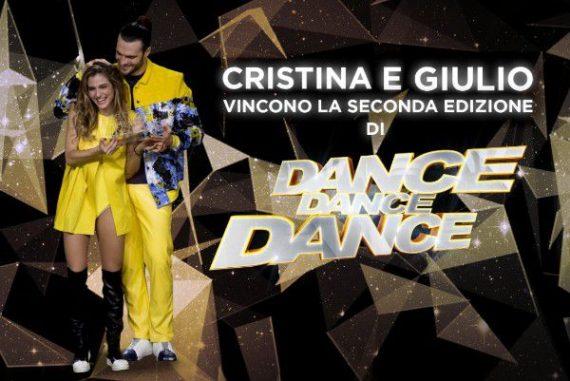 Giulio e Cristina vincono Dance Dance Dance 2: Ce lo siamo meritato