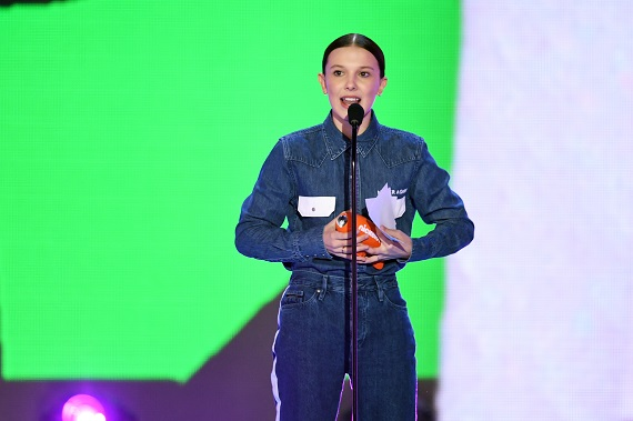 Kids' Choice Awards 2018 su Nickelodeon: Millie Bobby Brown ricorda le vittime di Parkland