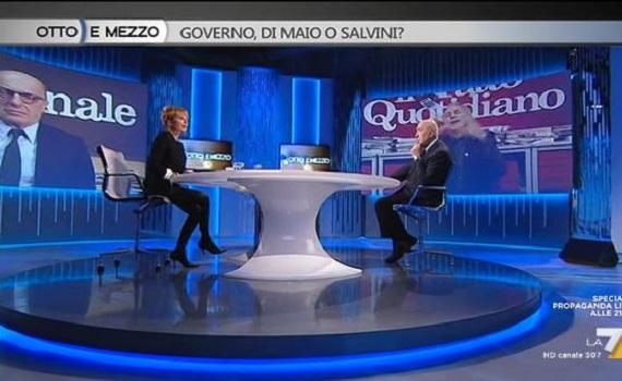 Analisi ascolti Tv 5 marzo: Auditel vota Marcuzzi, ok Vespa, flop Belpietro. La7 record
