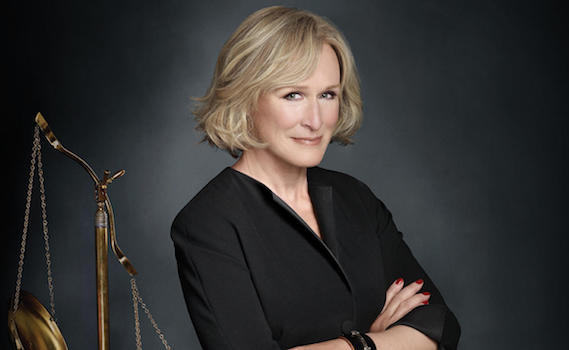 Glenn Close star di Damages da oggi su Giallo