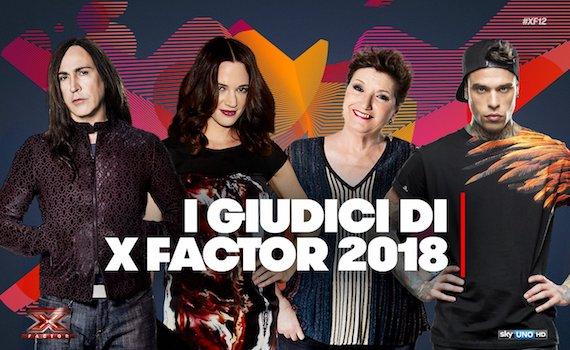 X Factor 2018: arriva Asia Argento, riconfermato Manuel Agnelli