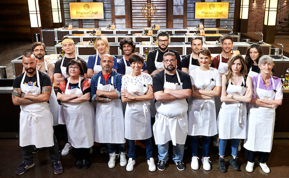 Su Tv8 MasterChef All Stars Italia, la sfida tra i migliori chef del cooking show