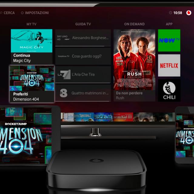 Dimension 404 la nuova serie di fantascienza in esclusiva su Vodafone TV