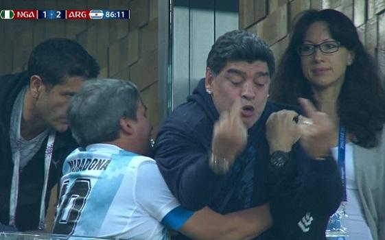 Maradona vuole fare causa a Sorrentino