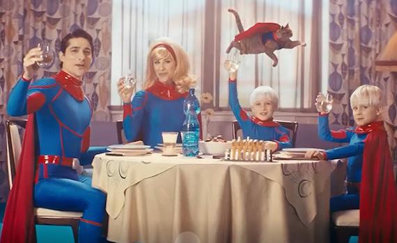 Spot Tv: la super famiglia di BrioBlu è davvero angosciante