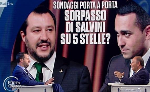 Ascolti Tv analisi 20 giugno: Italia1 boom, Mentana batte J-Ax. Salvini sorpassa Di Maio da Vespa
