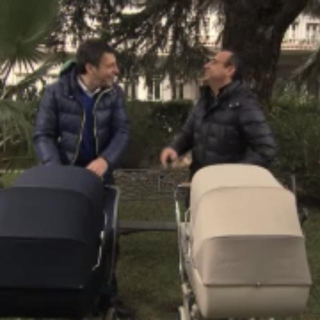 Gli studi Dear intitolati a Fabrizio Frizzi e un video unico con quelle inarrestabili risate con Carlo Conti