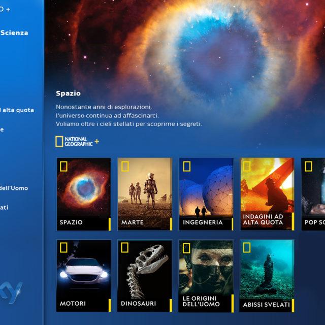 Nasce National Geographic +, disponibile dal primo ottobre solo su Sky on demand