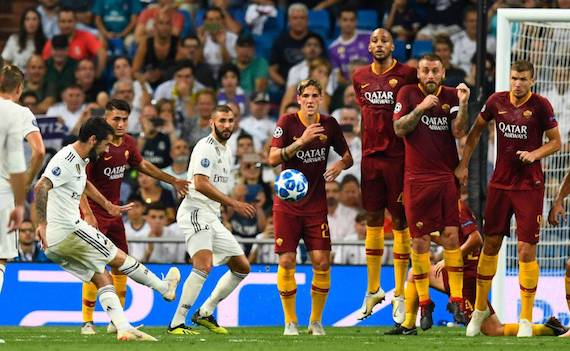 Calcio in tv: la Champions League su Sky con le partite di Roma e Real Madrid
