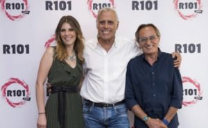 Silvia Notargiacomo, Teo Teocoli e Nino Formicola su R101