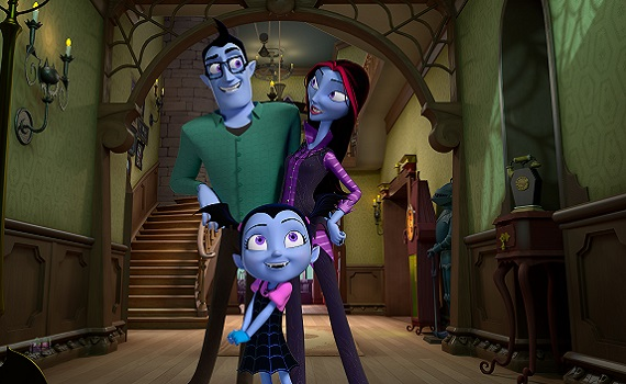 Halloween da paura con Vampirina su Disney Junior. Assaggio su Youtube