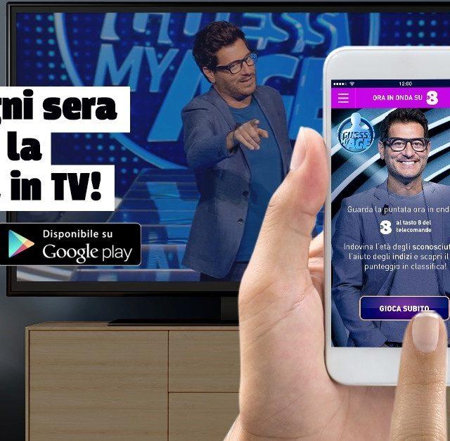 Guess my age: grazie a una app innovativa il pubblico da casa potrà giocare con Enrico Papi
