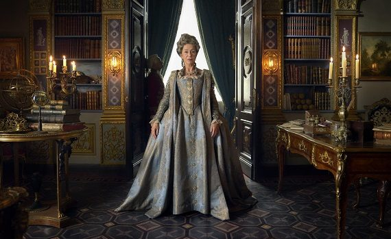 Helen Mirren sul set di Catherine The Great: le prime immagini