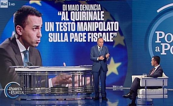 Ascolti tv analisi 17 ottobre: Rai1 frena e Schiavone vola. Vespa fa lo scoop con Di Maio e batte Le Iene