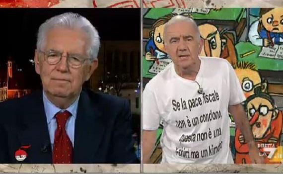 Ascolti tv analisi 16 ottobre: senza Ventura contro Proietti ok. Floris boom con Renzi e Monti, Amadeus spegne Vespa