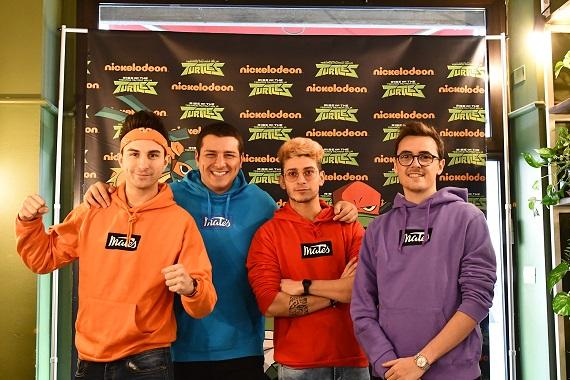 Tornano le Tartarughe Ninja su Nickelodeon: i Mates saranno testimonial della serie