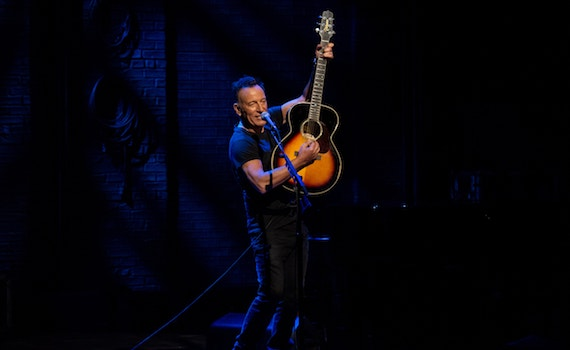 Netflix presenta il trailer di Springsteen on Broadway