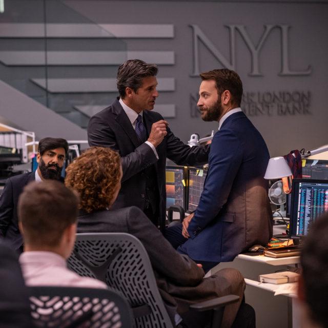 Diavoli: Sky diffonde le prime foto dell'attesa serie con Patrick Dempsey e Alessandro Borghi