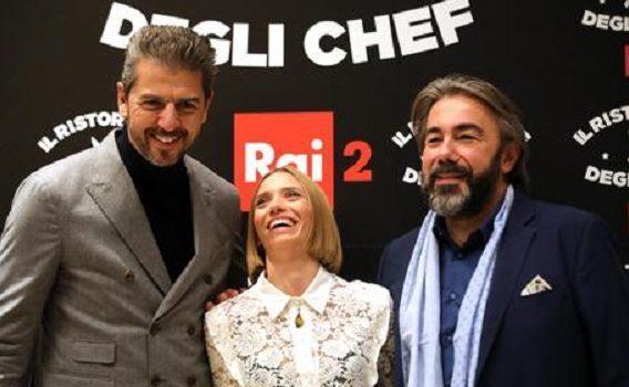 Anche Rai2 cede alla tentazione del cibo in tv: arriva Il ristorante degli chef