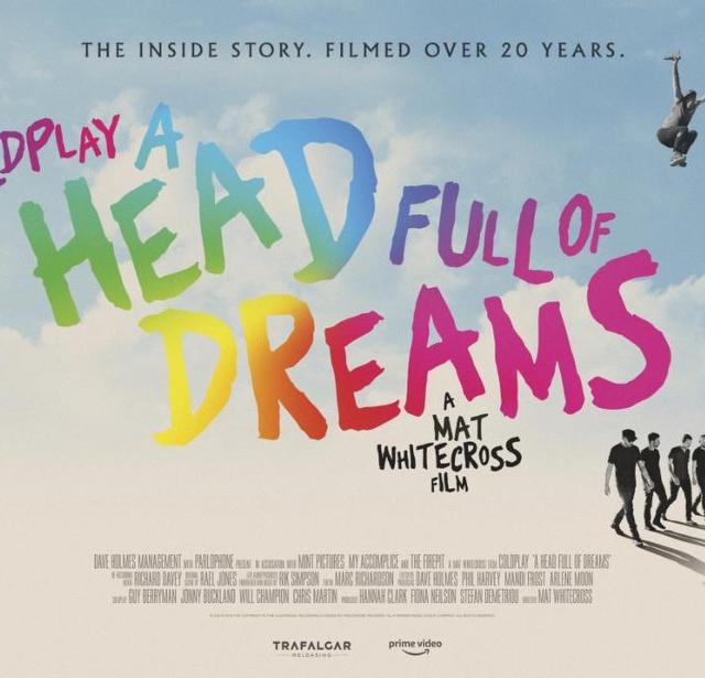 I Coldplay annunciano il film A Head full of dreams, disponibile su Amazon prime