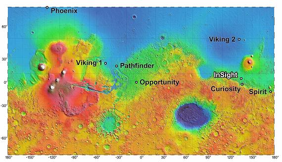 Marte: missione Insight, su Focus i dettagli dell'arrivo della sonda sul pianeta rosso