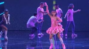 Martina Attili sui pattini X Factor