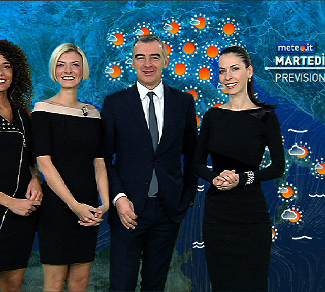 Da oggi nuova veste grafica per il meteo di Mediaset