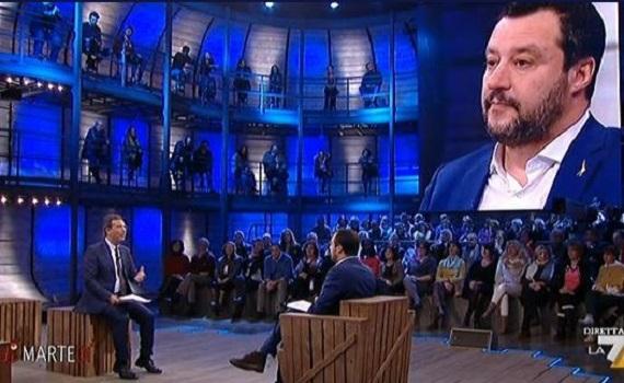 Ascolti tv analisi 29 gennaio 2019: Piątek spietato con D'Urso. Floris non vola con Salvini, Le Iene ancora 'contro' Di Battista