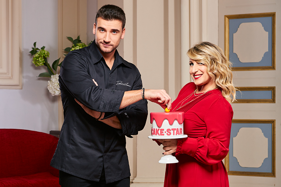 Sfida all'ultimo dolce: su Real Time torna Cake Star con Katia Follesa e Damiano Carrara