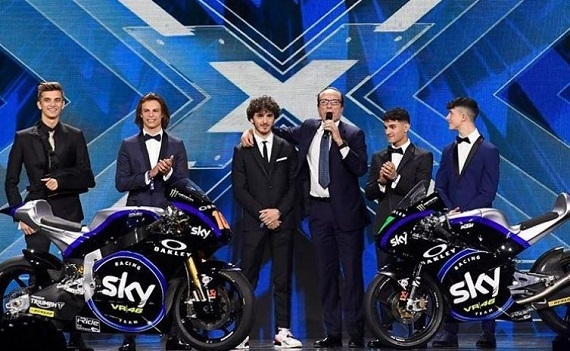Nuova estetica, nuova potenza, stesse ambizioni: arriva lo Sky Racing Team VR46 per la stagione 2019