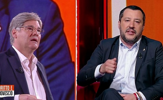 Ascolti tv analisi 7 marzo: Suor Angela e l'Europa League battono Scotti. A Del Debbio non basta Salvini