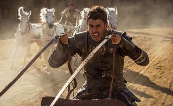 Ascolti 23 aprile digital e pay: il remake di Ben Hur porta Tv8 al 2,3%. Poi Iris e Real Time