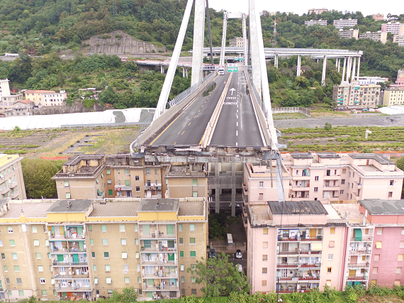 Il disastro del ponte Morandi raccontato minuto per minuto su National Geographic