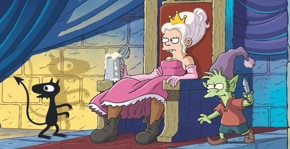Torna la principessa Bean e il suo regno bizzarro: Disincanto 2 è su Netflix da settembre