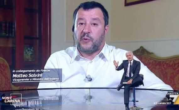 Ascolti tv analisi 19 maggio: Fazio flirta con Di Maio e Salvini s'inalbera da Giletti. Nera: Monteleone regola Petrelluzzi