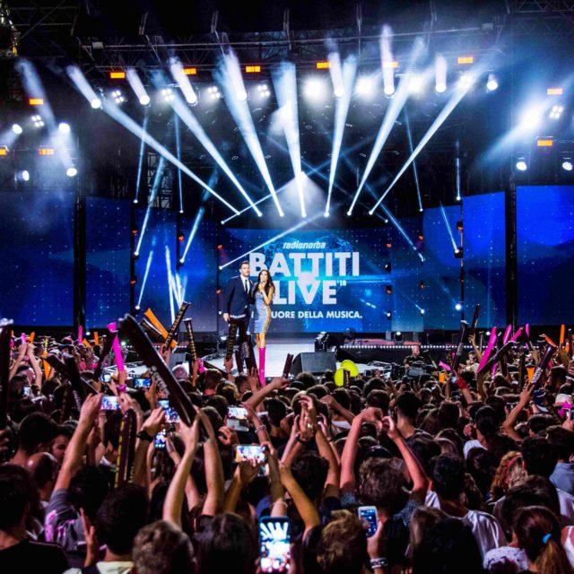 RadioNorba Battiti Live sbarcherà su Italia 1 con cinque serate a luglio. Circa 70 gli artisti sul palco