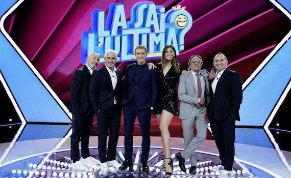 Ascolti Tv 21 giugno vince La sai l'ultima? con il 21,14%