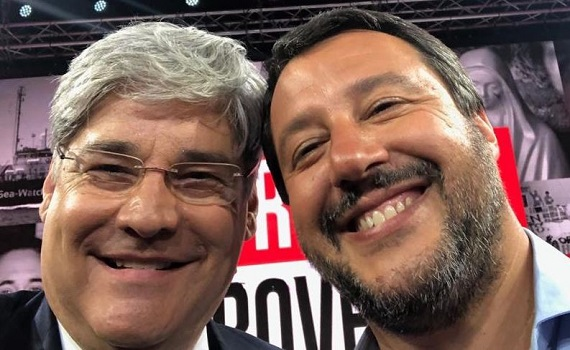 Ascolti tv analisi 27 giugno: Del Debbio fa il botto con Salvini, la Sea Watch, Casa Morgan, veri e finti veggenti