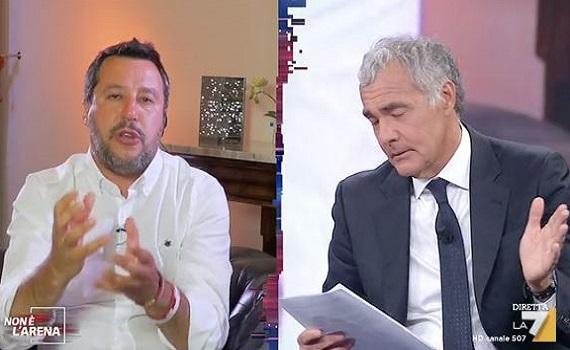 Ascolti tv analisi 2 giugno: Fazio al top con Mara e Luciana. Giletti con Salvini e le truffe ai turisti