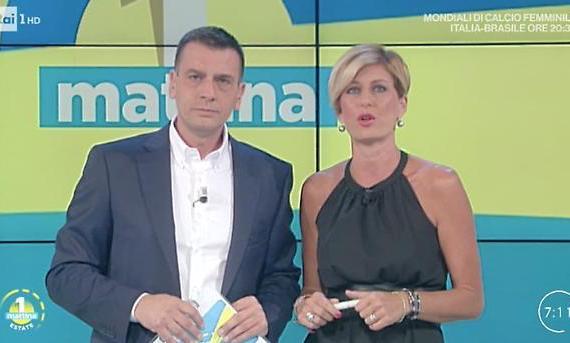 Top&FlopAuditel 15 luglio: la mattina Rai1 umilia Canale5