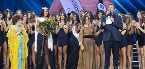 Ascolti tv 6 settembre: vince Miss Italia con il 19,58%
