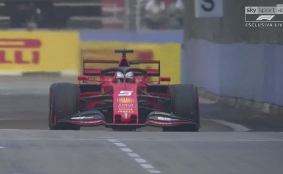 Gp di Singapore di Formula 1: gli orari delle trasmissioni pay e in chiaro