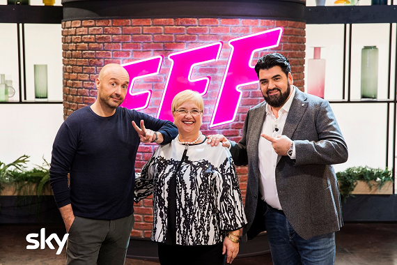 I fornelli in tv non si spengono mai: a marzo arriva Family Food Fight